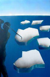 """Heinz Morstadt zeigt sein Werk """"Ice Cup"""""""