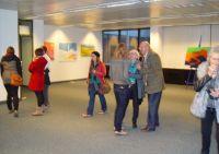 """Ausstellung Lucca M  bei """"Kunst im Abriss"""""""