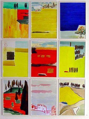 """Heinz Morstadt zeigt sein Werk """"Toscana"""""""