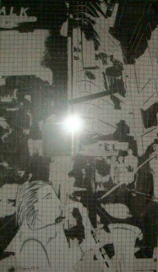 Alltag im Spiegel  (120x70 cm)