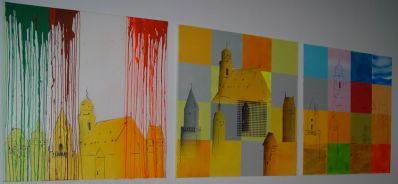 """Heinz Morstadt zeigt sein Werk """"Triptychon"""""""