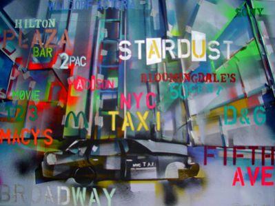 """Heinz Morstadt zeigt sein Werk """"Times Square Schrift"""""""